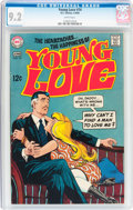 Silver Age (1956-1969):Romance, Young Love #74 (DC, 1969) CGC NM- 9.2 White pages....