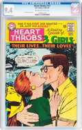 Silver Age (1956-1969):Romance, Heart Throbs #111 (Quality/DC, 1966) CGC NM 9.4 Off-white to whitepages....