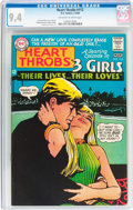 Silver Age (1956-1969):Romance, Heart Throbs #112 (Quality/DC, 1968) CGC NM 9.4 Off-white to whitepages....