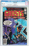 Modern Age (1980-Present):Horror, Ghosts #91 (DC, 1980) CGC NM+ 9.6 White pages....