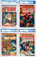 Bronze Age (1970-1979):Horror, Fear CGC-Graded Group of 5 (Marvel, 1972-75) Condition: CGC NM9.4.... (Total: 5 Comic Books)