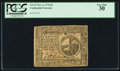 Colonial Notes:Continental Congress Issues, Continental Currency November 2, 1776 $2 PCGS Very Fine 30.. ...