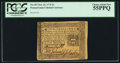 Colonial Notes:Pennsylvania, Pennsylvania October 25, 1775 2s PCGS Choice About New 55PPQ.. ...