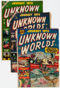 Golden Age (1938-1955):Horror, Journey Into Unknown Worlds Group of 6 (Atlas, 1951-54) Condition:Average FR/GD.... (Total: 6 Comic Books)