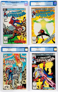 Modern Age (1980-Present):Superhero, The Amazing Spider-Man CGC-Graded Group of 4 (Marvel, 1981-83)Condition: CGC NM+ 9.6.... (Total: 4 Comic Books)