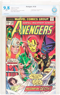 The Avengers #139 (Marvel, 1975) CBCS NM/MT 9.8 White pages