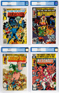 Modern Age (1980-Present):Science Fiction, Micronauts CGC-Graded Group of 5 (Marvel, 1979-81) Condition: CGCNM/MT 9.8.... (Total: 5 Comic Books)