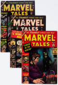 Golden Age (1938-1955):Horror, Marvel Tales Group of 7 (Atlas, 1953-57) Condition: Average GD....(Total: 7 Comic Books)