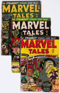 Golden Age (1938-1955):Horror, Marvel Tales Group of 6 (Atlas, 1950-55) Condition: Average FR....(Total: 6 Comic Books)