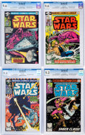 Modern Age (1980-Present):Science Fiction, Star Wars CGC-Graded Group of 4 (Marvel, 1980-81).... (Total: 4Comic Books)