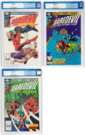 Modern Age (1980-Present):Superhero, Daredevil #172-174 CGC-Graded Group (Marvel, 1981) Condition: CGCNM+ 9.6.... (Total: 3 Comic Books)