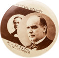 Political:Pinback Buttons (1896-present), William McKinley: Classic Eclipse Button....