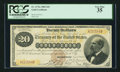 Large Size:Gold Certificates, Fr. 1175a $20 1882 Gold Certificate PCGS Very Fine 35.. ...
