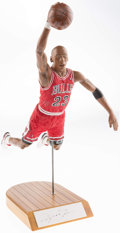Basketball Collectibles:Others, Michael Jordan Signed Upper Deck Authenticated Figurine....