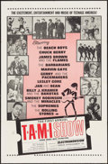 """Movie Posters:Rock and Roll, The T.A.M.I. Show (American International, 1964). One Sheet (27"""" X 41""""). Rock and Roll.. ..."""