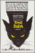 "Movie Posters:Horror, The Tomb of Ligeia (American International, 1965). One Sheet (27"" X 41""). Horror.. ..."