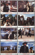 """Movie Posters:Western, Tombstone (Hollywood Pictures, 1993). Lobby Card Set of 8 (11"""" X 14""""). Western.. ... (Total: 8 Items)"""