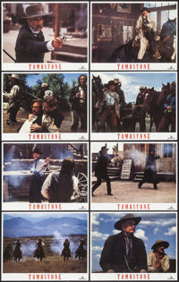 """Tombstone (Hollywood Pictures, 1993). Lobby Card Set of 8 (11"""" X 14""""). Western. ... (Total: 8 Items)"""