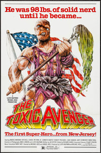 """The Toxic Avenger & Other Lot (Troma, 1985). One Sheets (2) (27"""" X 41""""). Horror. ... (Total: 2 Items)"""