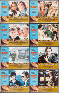 """Two-Minute Warning & Others Lot (Universal, 1976). Lobby Card Sets of 8 (3 Sets) (11"""" X 14""""). Thriller..."""