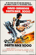 "Movie Posters:Science Fiction, Death Race 2000 (New World, 1975). One Sheet (27"" X 41""). ScienceFiction.. ..."