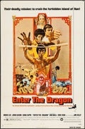 "Movie Posters:Action, Enter the Dragon & Other Lot (Warner Brothers, 1973). One Sheet(27"" X 41"") & Trimmed One Sheet (23.5"" X 37.25""). Action.. ...(Total: 2 Items)"