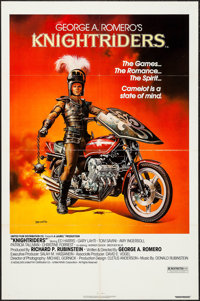 "Knightriders & Others Lot (United Artists, 1981). One Sheet (27"" X 41"") and Lobby Cards (2) (11"" X 14..."