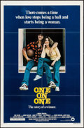 """Movie Posters:Drama, One On One & Other Lot (Warner Brothers, 1977). One Sheets (2) (27"""" X 41""""). Drama.. ... (Total: 2 Items)"""