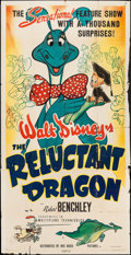 "Movie Posters:Animation, The Reluctant Dragon (RKO, 1941). Three Sheet (41"" X 80""). Animation.. ..."
