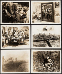 "All Quiet on the Western Front (Universal, R-1939). Photos (6) (8"" X 10""). Academy Award Winners. ... (Total:..."