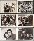 """Movie Posters:War, Eagle Squadron & Others Lot (Universal, 1942). Photos (28)(approx. 8"""" X 10""""). War.. ... (Total: 28 Items)"""