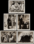 """Movie Posters:Comedy, Little Tough Guys in Society (Universal, 1938). Photos (10) (8"""" X10""""). Comedy.. ... (Total: 10 Items)"""