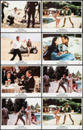 "Movie Posters:James Bond, For Your Eyes Only (MGM/UA, R-1984). Lobby Cards (8) (11"" X 14"").James Bond.. ... (Total: 6 Item)"