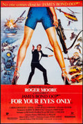 "Movie Posters:James Bond, For Your Eyes Only (United Artists, 1981). Pakistani One Sheet(26.5"" X 39.5""). James Bond.. ..."