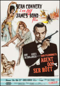 "Movie Posters:James Bond, From Russia with Love (United Artists, R-1979). Swedish One Sheet (27.5"" X 39.25""). James Bond.. ..."