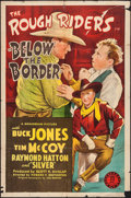 """Movie Posters:Western, Below the Border & Others Lot (Monogram, 1942). One Sheets (4) (27"""" X 41""""). Western.. ... (Total: 4 Items)"""