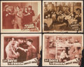 "Movie Posters:Crime, Hell's House & Others Lot (Astor, R-1940s). Lobby Cards (4) (11"" X 14"") and One Sheets (2) (27"" X 41""). Crime.. ... (Total: 6 Items)"