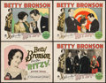 """Movie Posters:Romance, Ritzy (Paramount, 1927). Title Lobby Card & Lobby Cards (3) (11"""" X 14""""). Romance.. ... (Total: 4 Items)"""