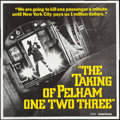 "Movie Posters:Crime, The Taking of Pelham One Two Three (United Artists, 1974).International Six Sheet (79"" X 79""). Crime.. ..."