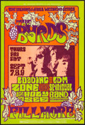 """Movie Posters:Rock and Roll, The Byrds at The Fillmore (Bill Graham, 1967). Concert Poster #82 (14"""" X 21"""") 1st Printing. Rock and Roll.. ..."""