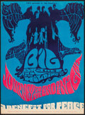 """Movie Posters:Rock and Roll, Journey to the End of the Night: A Benefit For Peace (CIPA, 1967).Concert Poster (13.75"""" X 18.5""""). Rock and Roll.. ..."""