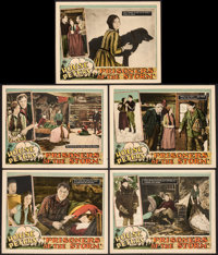 """Prisoners of the Storm (Paramount, 1926). Lobby Cards (5) (11"""" X 14""""). Drama. ... (Total: 5 Items)"""