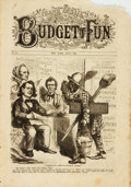 Books:Periodicals, [Illustrated Periodicals, Cartoons]. Frank Leslie's Budget ofFun, No. 173. July, 1867. ...