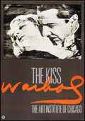 "Movie Posters:Miscellaneous, The Kiss by Andy Warhol (Art Institute of Chicago, 1989). One Sheet(27.25"" X 39""). Miscellaneous.. ..."