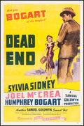 "Movie Posters:Crime, Dead End (Film Classics, R-1944). One Sheet (27"" X 41""). Crime.. ..."