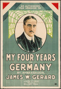 "Movie Posters:War, My Four Years in Germany (First National, 1918). One Sheet (27"" X 41""). War.. ..."
