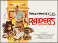 "Movie Posters:Adventure, Raiders of the Lost Ark (CIC, 1981). British Quad (30"" X 40"") StyleB. Adventure.. ..."