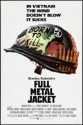 "Movie Posters:War, Full Metal Jacket (Warner Brothers, 1987). One Sheet (27"" X 41"")Advance. War.. ..."