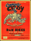"Movie Posters:Rock and Roll, Commander Cody and his Lost Planet Airmen at the Berkeley CommunityTheater (Jolly Blue, 1972). Concert Poster (13"" X 17"") 1..."
