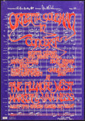 """Movie Posters:Rock and Roll, Ornette Coleman at the Fillmore West (1968). Concert Poster (14"""" X20"""") 1st Printing. Rock and Roll.. ..."""